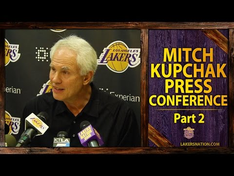 Lakers GM Kupchak Expects Byron Scott To 'Hold Players Accountable'