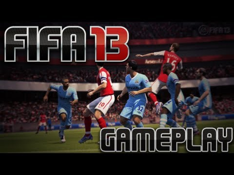 FIFA 13 Gameplay - Barcelona vs PSG (HD)