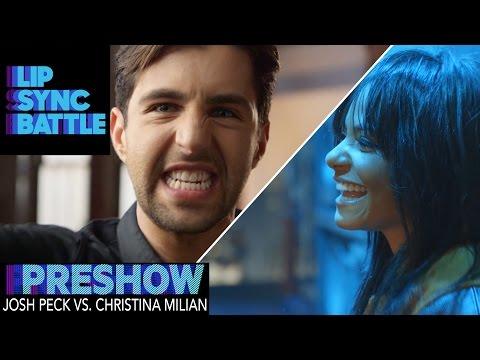 Josh Peck vs. Christina Milian (Preshow) | Lip Sync Battle