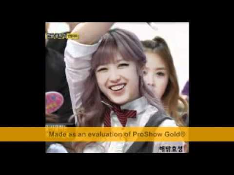 Hyosung's cute gummy smile