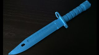 download lagu 3d Printed Knife: Bayonet From Cs:go gratis