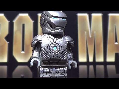 LEGO Marvel : Iron Man Mark I, Mark II, & Mark IV - Showcase