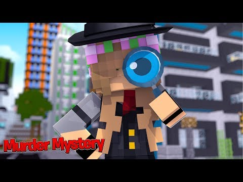 SOLVING THE MURDER MYSTERY! | Minecraft Little Kelly