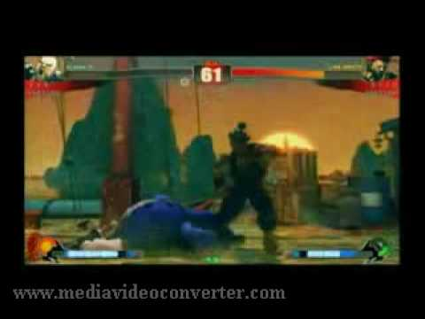 Street Fighter 4 Tournament Group  F - 1.2