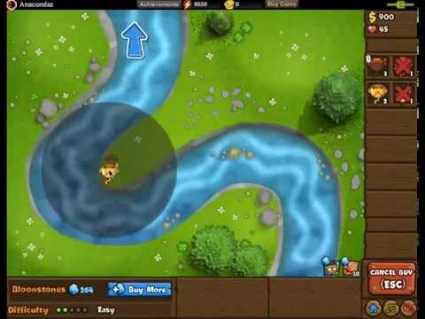 Easy Contested Territory! (Bloons Monkey City Bloon Dunes #2)