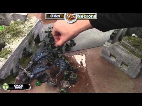 Necrons vs Orks Warhammer 40k Battle Report - Waaagh! Batrep Ep 15 - Part 3/5