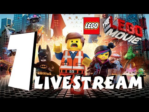 The Lego Movie videogame PS4 Gameplay Livestream Part 1 1080P