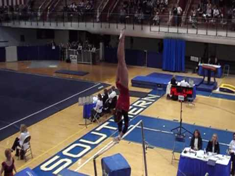 Molly Parker Cornell University USA Gymnastics Collegiate Nationals 2009 Preliminary