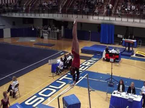 Molly Parker Cornell University USA Gymnastics Collegiate Nationals 2009 Preliminary