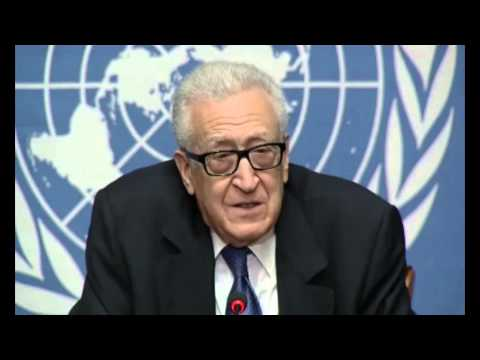 Syria: Lakhdar Brahimi, Joint Special Representative for Syria - February 15, 2014