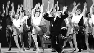 'Lithuanian' Jew Dancer Fred Astaire Dances w/Beautiful White Girls To Apeman/White Mix M Gaye
