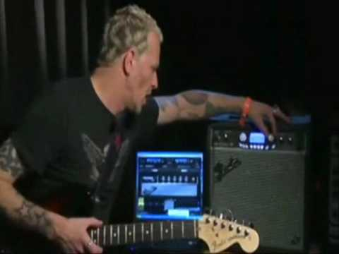 Guitarist Gary Hoey on the new Fender GDEC-3 amplifier