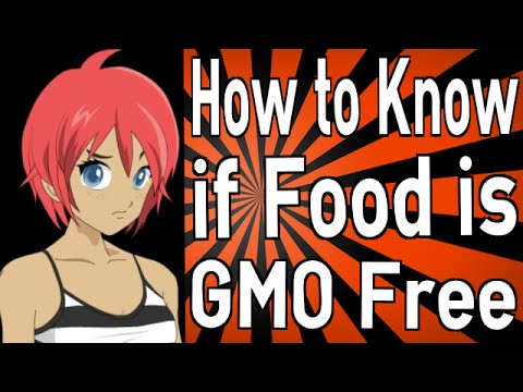 How to Know if Food is GMO Free