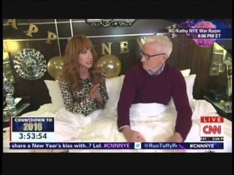 New Year's Eve Live 2016 Anderson Cooper Kathy Griffin Times Square New York (1/21)