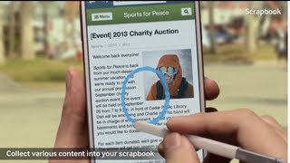 Samsung Galaxy Note 3 ScrapBook   Walkthrough