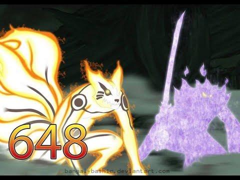 Naruto Manga 648-Susano Modo Sabio-2do Orochimaru(Review)Reseña