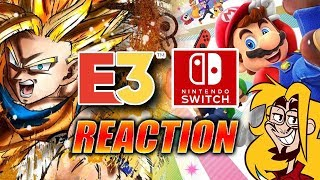 MAX REACTS: E3 Nintendo Direct 2018 -FULL-