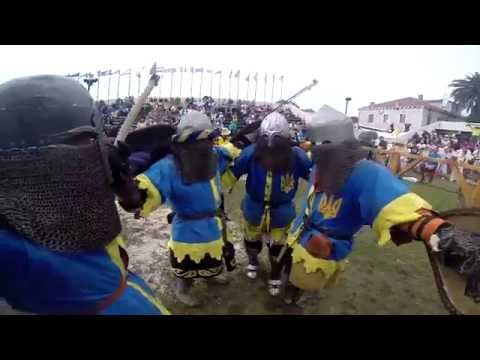 Sharukhan Clan Gopro - Se07 Ukrainian Anthem (battle Of The Nations) video