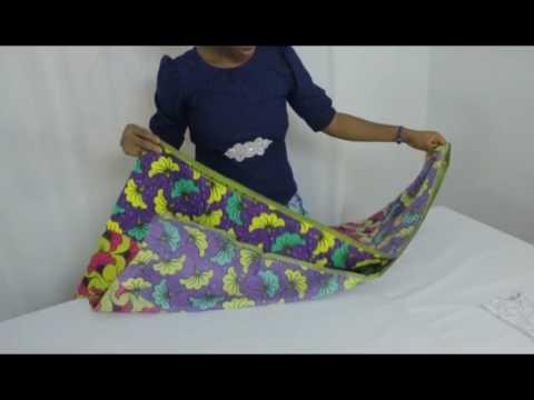 DIY: How To Cut High & Low Dress/Peacock Dress/Maxi Dress/Water Fall Dress [Detailed]