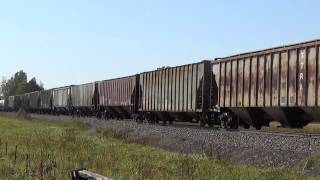 SCXY Sand Train at SCXY MP 71 in Beroun, MN (9/26/2014)