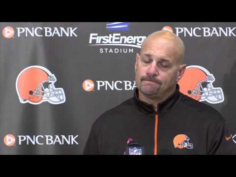 Browns' Mike Pettine says 'It is huge, I can't tell that lie' after defeating the Steelers