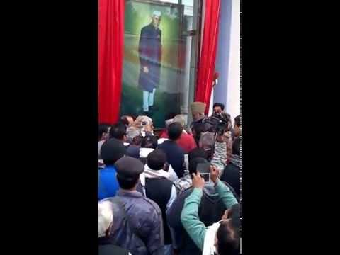 Unveiling the Portrait of First Prime Minister of India Pt. Jawahar Lal Nehru ji
