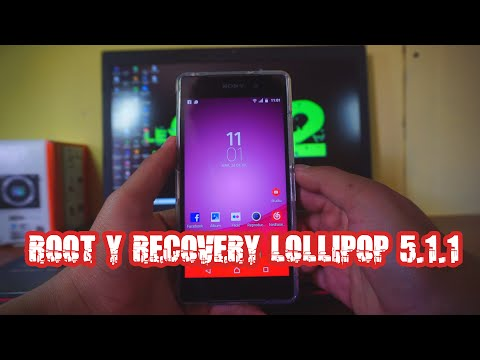 ROOT Y RECOVERY  XPERIA Z3, Z2 LP 5.1.1 #1