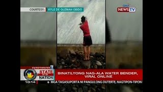 SONA: Binatilyong nag-ala water bender, viral online