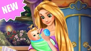 Disney Princess Rapunzel Tangled Game - Newborn Care & Baby Feeding