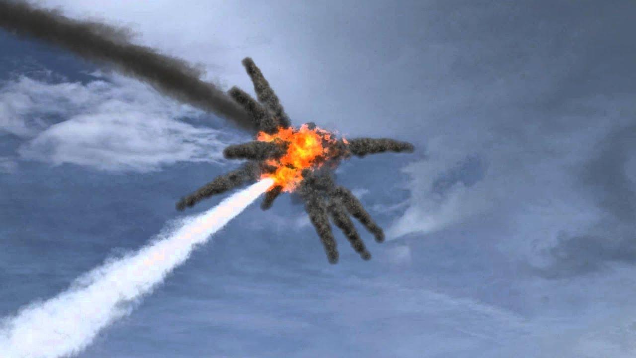 Aerial Jet Explosion Youtube