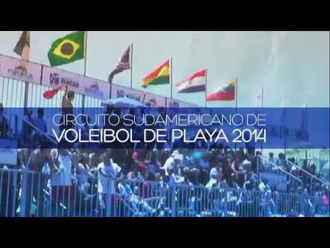 Vóley Playa: Marisol y Andrea en el 'Suda' de Colombia - VIDEO