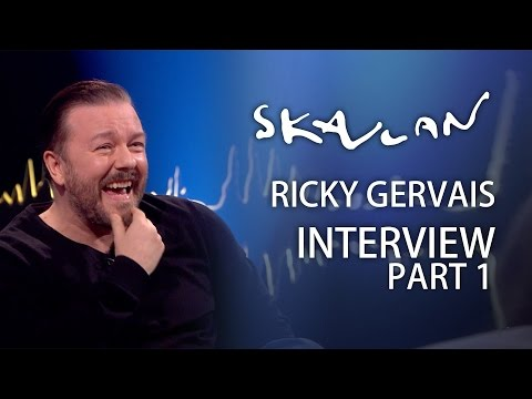 Ricky Gervais | Part 1 | Skavlan