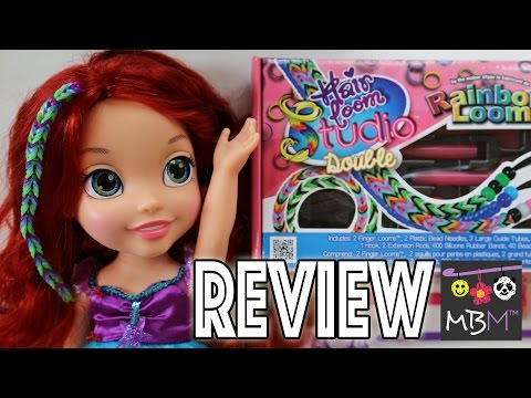 Rainbow Loom Hair Loom Studio - Unboxing. Review and Demonstration!
