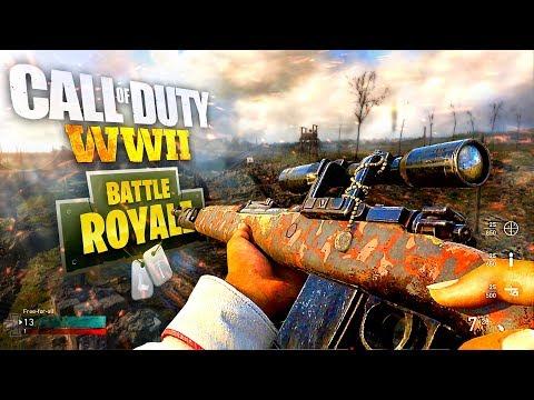 Call of Duty WW2 BATTLE ROYALE Map Outside of Headquarters? COD WW2 vs PUBG & Fortnite Battle Royale