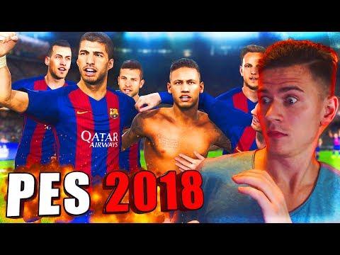 ПЕРВЫЙ РАЗ ИГРАЮ в PES 2018 | Pro Evolution Soccer 18