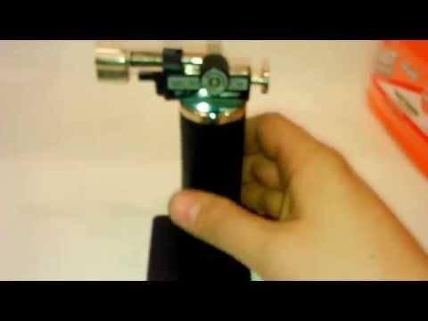 Micro Torcha Soplete Gas Butano Guiller 1300°  Recargable.