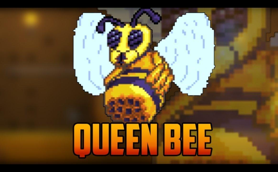 Как сделать призывалку королеву пчёл в террарии