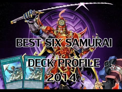 *YuGiOh* THE BEST! Six Samurai Deck Profile July 2014 Banlist