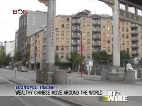 Wealthy Chinese move around the world - Biz Wire - February 14,2014 - BONTV China