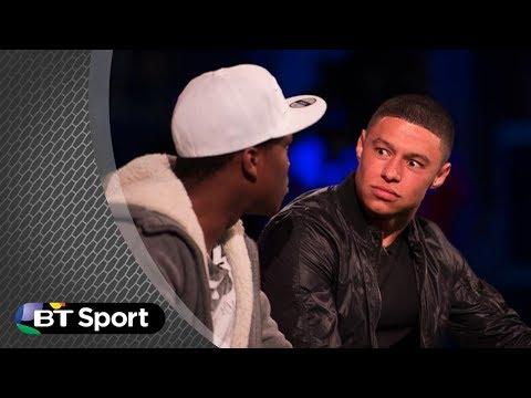 KSI vs Alex Oxlade-Chamberlain FIFA 14 | #BTSport