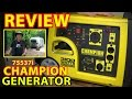 """REVIEW: Champion 75537i """"RV Ready"""" 3100W INVERTER GENERATOR (with Remote Start)"""