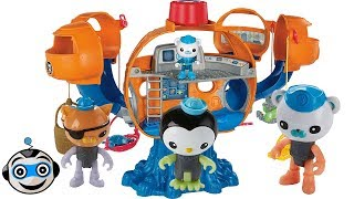 The Octonauts in the Octopod and the Octo-Glow crew pack