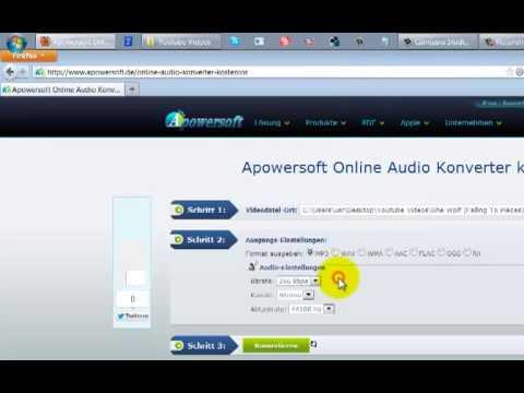 Konvertieren von Audio-Dateien ohne Programm