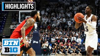 Highlights: Nittany Lions Upset No. 4 Terrapins | Maryland at Penn State | Dec. 10, 2019