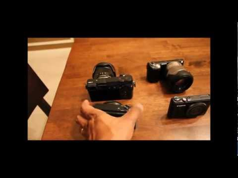 DigiWar: NEX-5N and S100 vs. NEX-7 and RX100