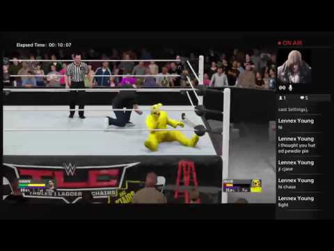 Chase plays Wwe2k16