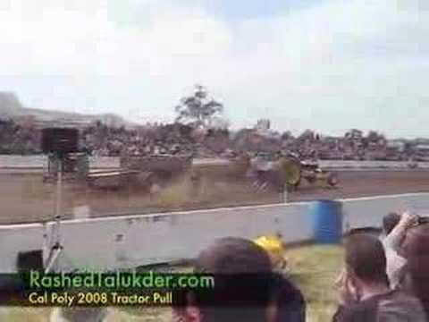 Cal Poly Tractor Pull 2008 - Mustang Fever