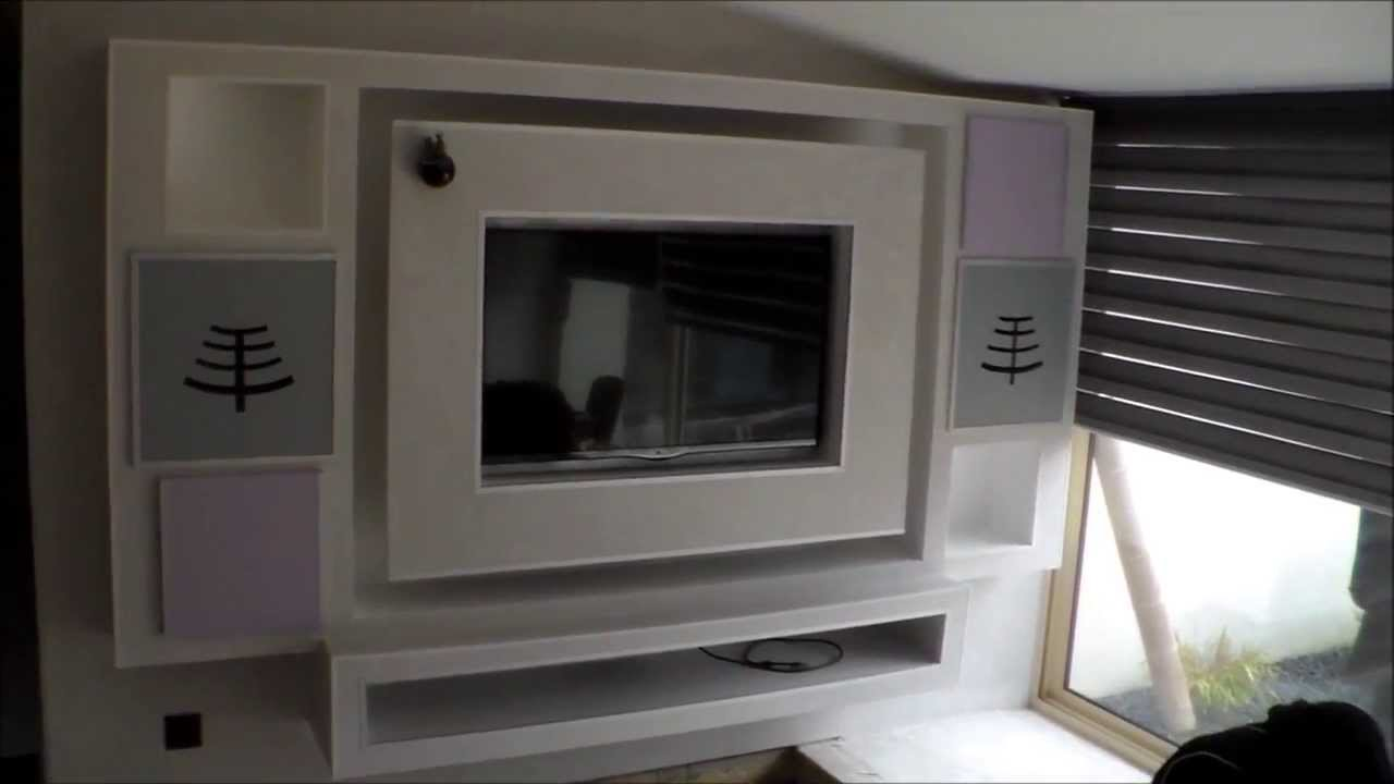 Comment faire un meuble tv dangle - Comment fabriquer un meuble ...