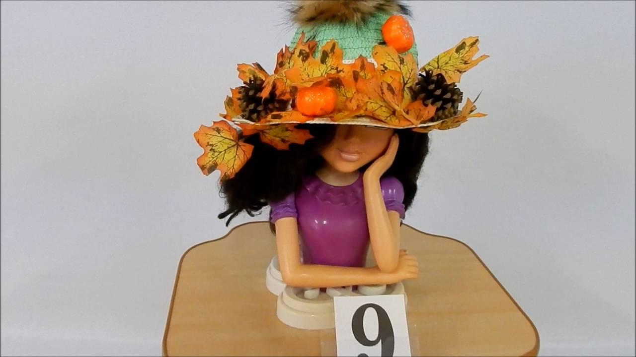 Шляпка своими руками осень 15