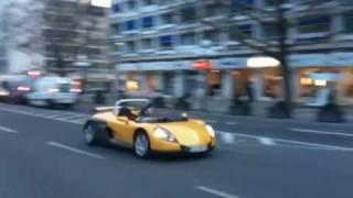 Renault Sport Spider cruising around in Wiesbaden!!!